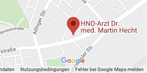HNO Friedrichshafen - Dr. med Martin Hecht | Anfahrt & Terminvereinbarung